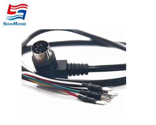 DIN plug medical cable assembly